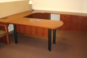 Used Bernhardt Office Desk O Business Furnishings Inc