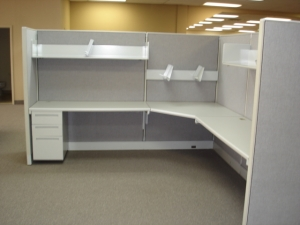 Allsteel 8000 Mega Base Office Cubicles