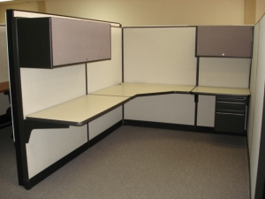 Haworth Office Cubicles Used