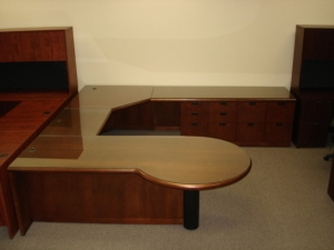 Gunlocke Wood Desk