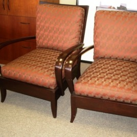 Dakota Jackson Lounge Chairs