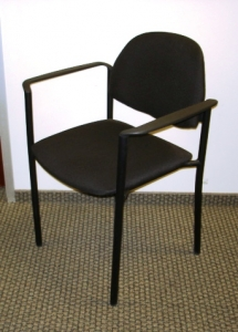 Black Stackable Side Chairs