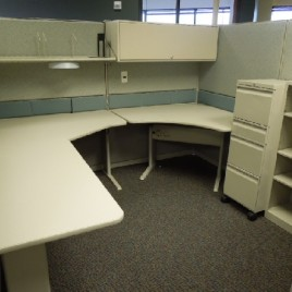 Teknion TOS 8×8 Office Cubicles
