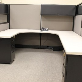 Used Herman Miller AO2 office cubicles