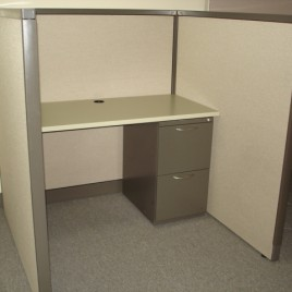 4×4 Call Center Cubicles | Steelcase Avenir | Used Cubicles